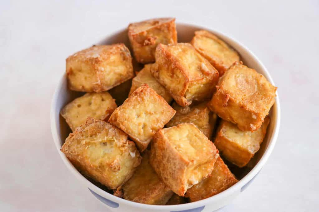 crispy oven baked tofu