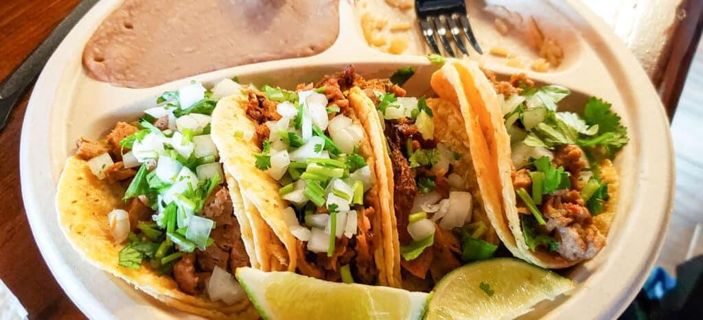 tacos from el palote