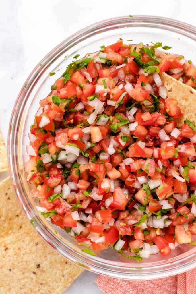 Easy pico de Gallo