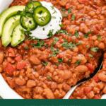 tovetop red lentil chili pin